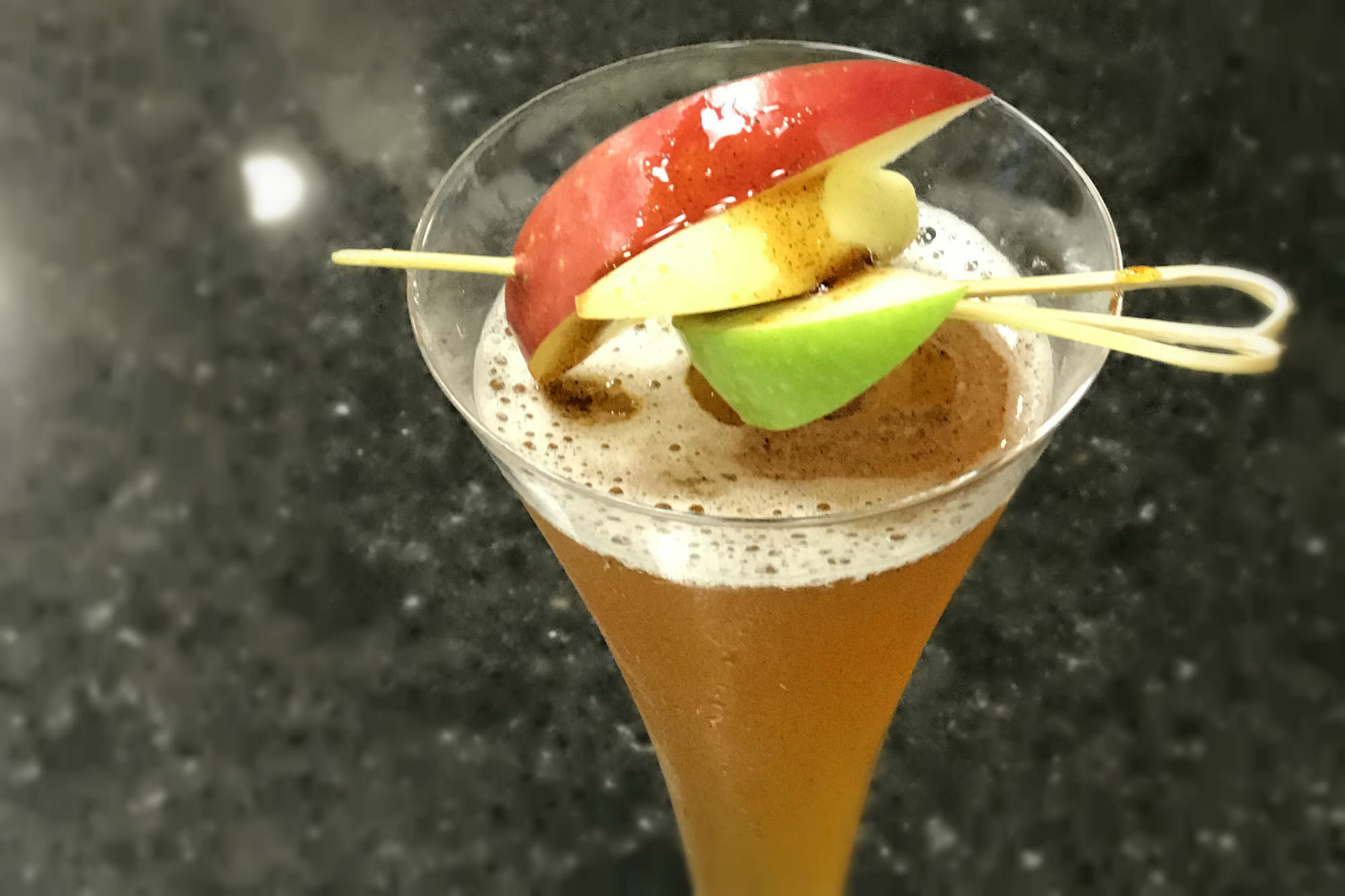 Burnt Cinnamon Caramel Apple Cider