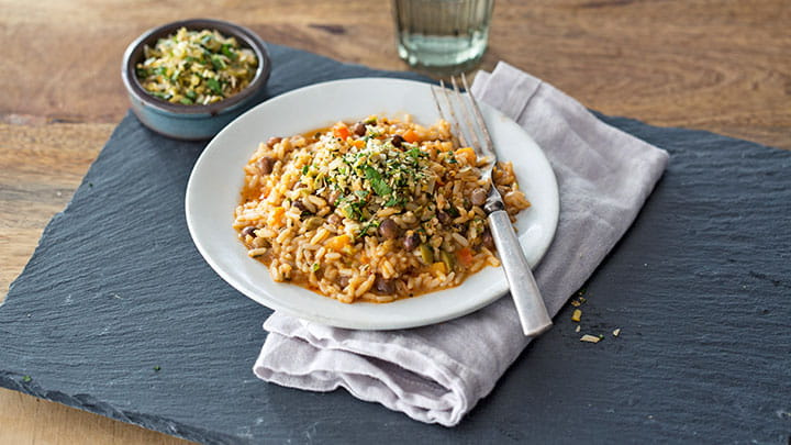 Caribbean Coconut and Pigeon Pea Rice