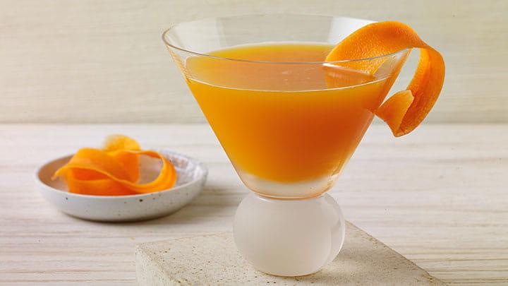 Carrot Ginger-tini