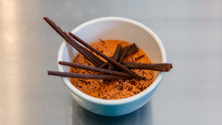 Carrot and Cardamom Panna Cotta