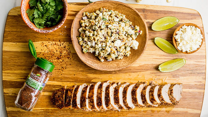 Chia Seed with Citrus Chile and Garlic Blend