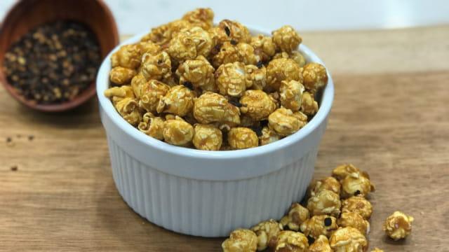 Chipotle Caramel Popcorn