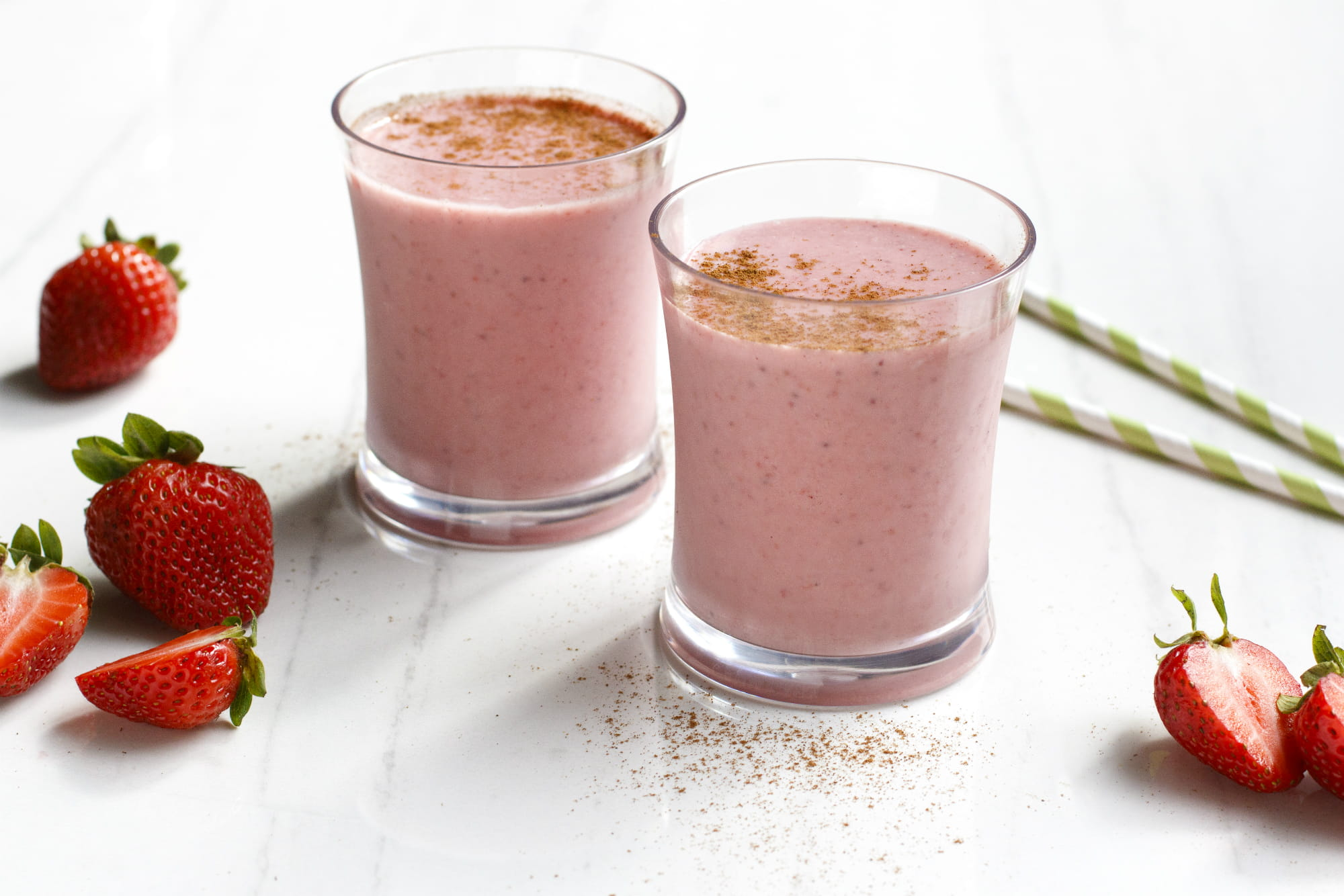 Strawberry Coconut Smoothie