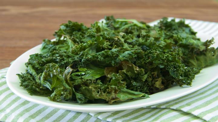 Herbed Kale Chips