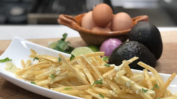 Yucca Fries with Jalapeno Aioli