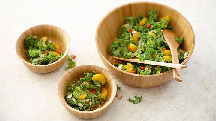 Kale Salad with Asian Vinaigrette