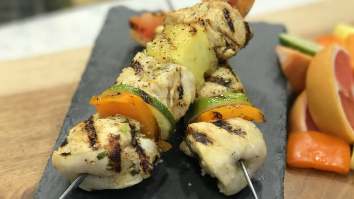 Key West Tequila Lime Chicken Kabobs