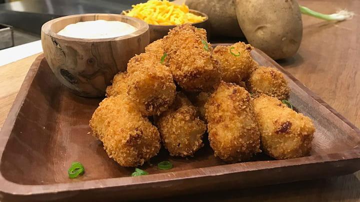 Loaded Mashed Potato Tots
