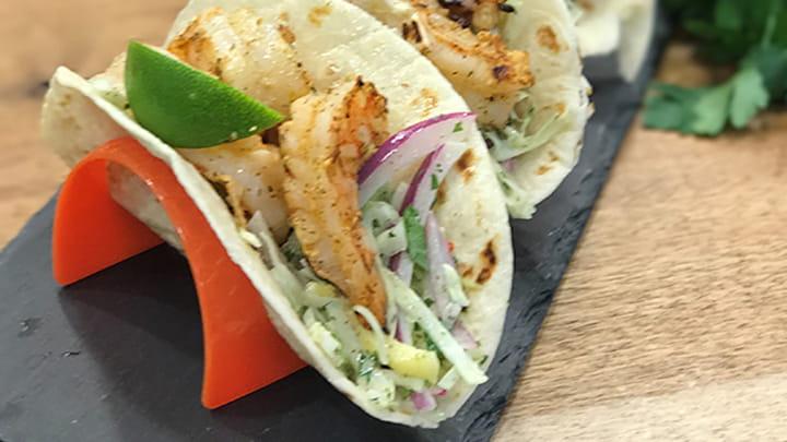 Mojito Lime Shrimp Tacos
