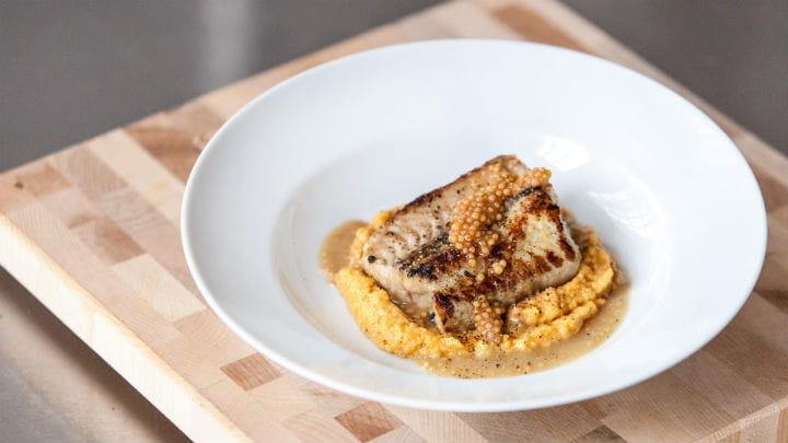 recipe_eel_a_la_plancha_with_brown_sugar_bourbon_romesco_and_sherry_mustard_seed_vinaigrette_2000