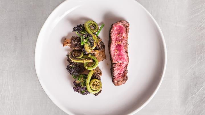 Ribeye with Montreal Steak Vegetables