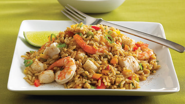 Seafood Dirty Rice