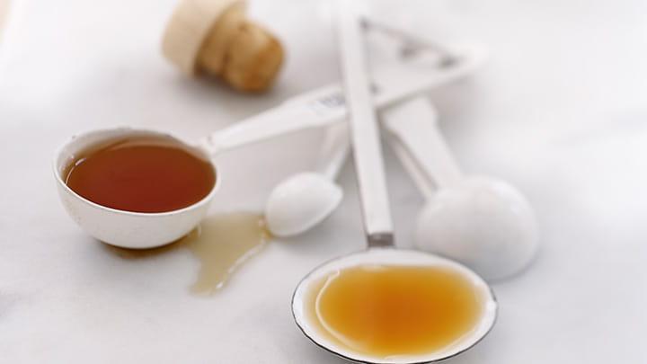 Sliced Apple Pancakes a la Plancha with Sherry Caramel Sauce