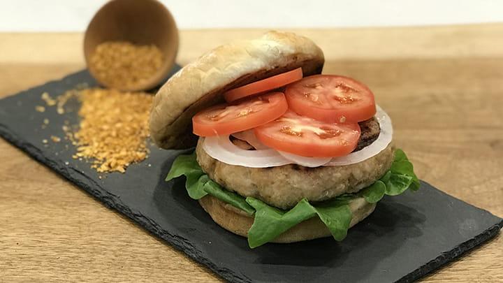 Smokehouse Maple Chicken Burger