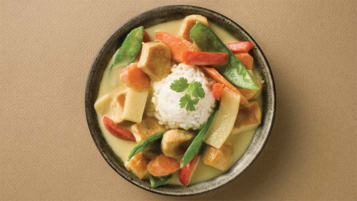 Thai Green Curry Coconut Chicken Soup