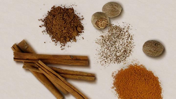 Turmeric Cocoa Cinnamon and Nutmeg Blend