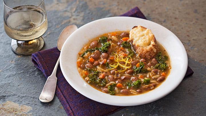 Vegetarian Bolognese with Borlotti Beans