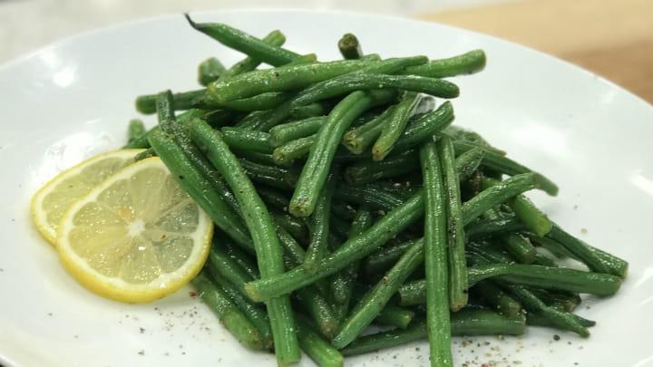 Zesty Lemon Pepper Haricot Vert