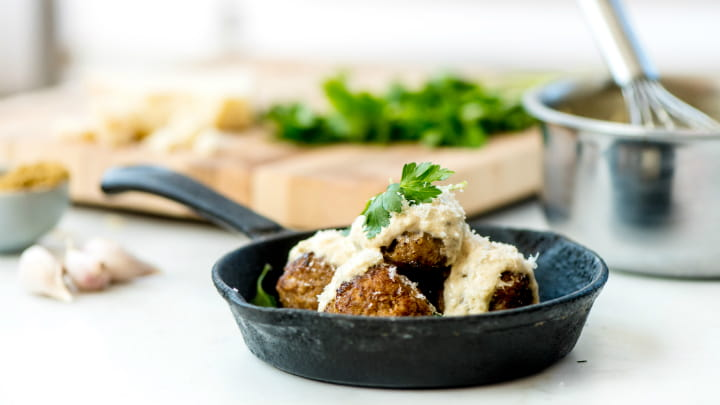 Zesty Pork Meatballs