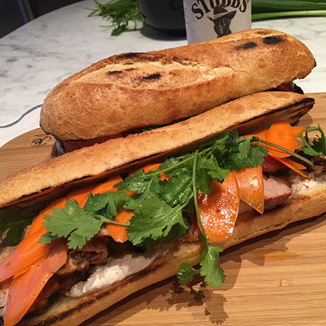 Barbecue Bahn Mi