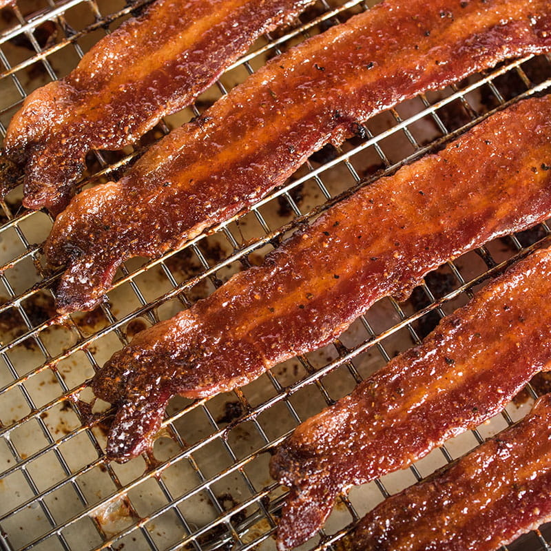 BBQ Candied Bacon