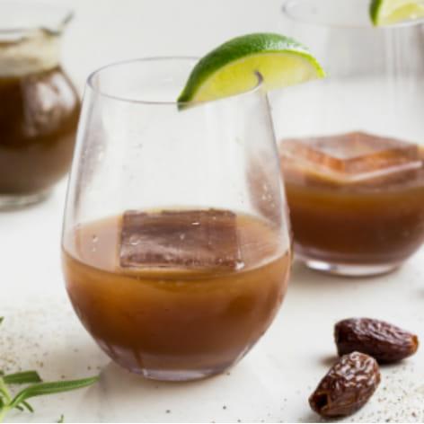 Black Pepper Date Cocktail