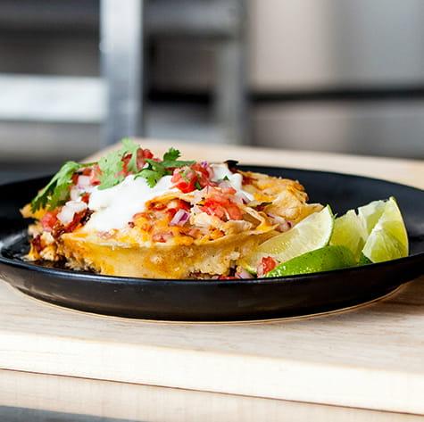 Chipotle Chicken Cheesy Enchilada Casserole