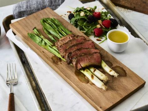 Beef with Sherry Dijon Vinaigrette