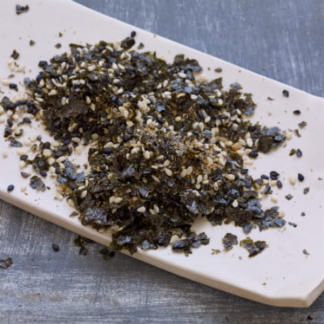 Homemade Shrimp Furikake Seasoning