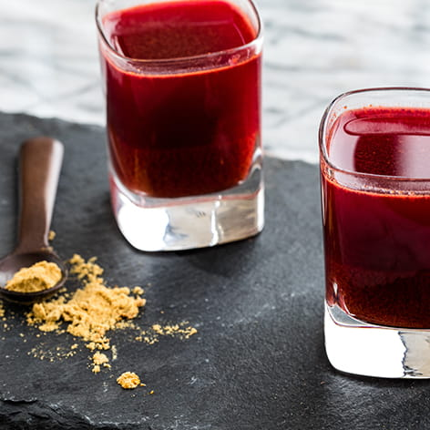 Ginger Turmeric Beet Sipping Elixir