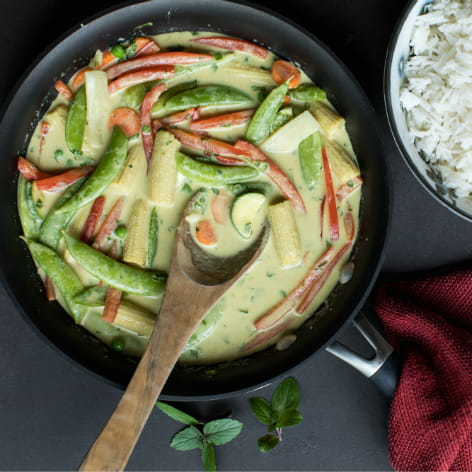 Easy Green Curry Vegetables