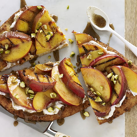 Grilled Fruit Tart