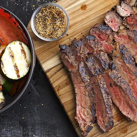 Grilled Montreal Steak