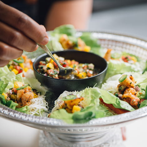 Grilled Shrimp Wraps