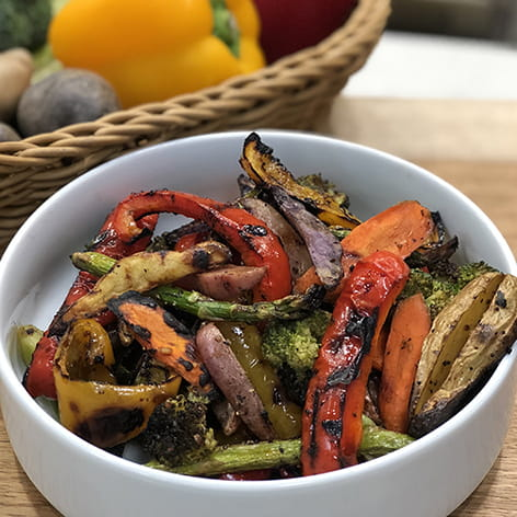 Grilled Vegetables with Montreal Steak Seasoning