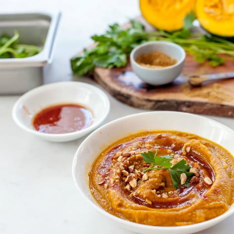 Moroccan Kabocha Squash Soup