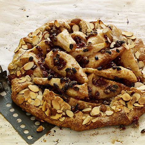 Pear and Barberry Crostata