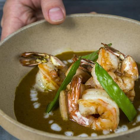 Shrimp Dancing Curry