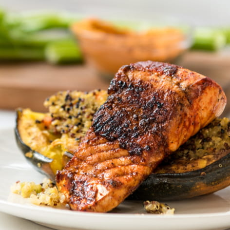 spiced_rubbed_pickerel_with_quinoa_stuffed_oven_roasted_squash_720x405