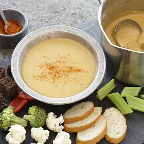 Spicy Beer Cheese Fondue