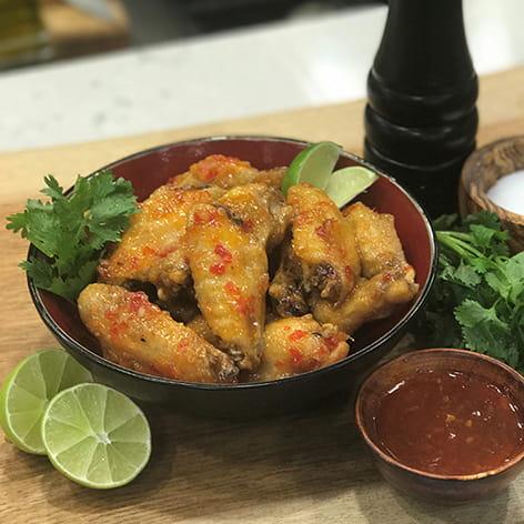 Thai Coconut Chicken Wings