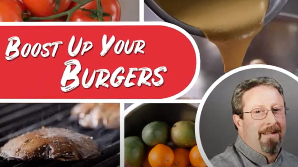 Boost up your burgers video