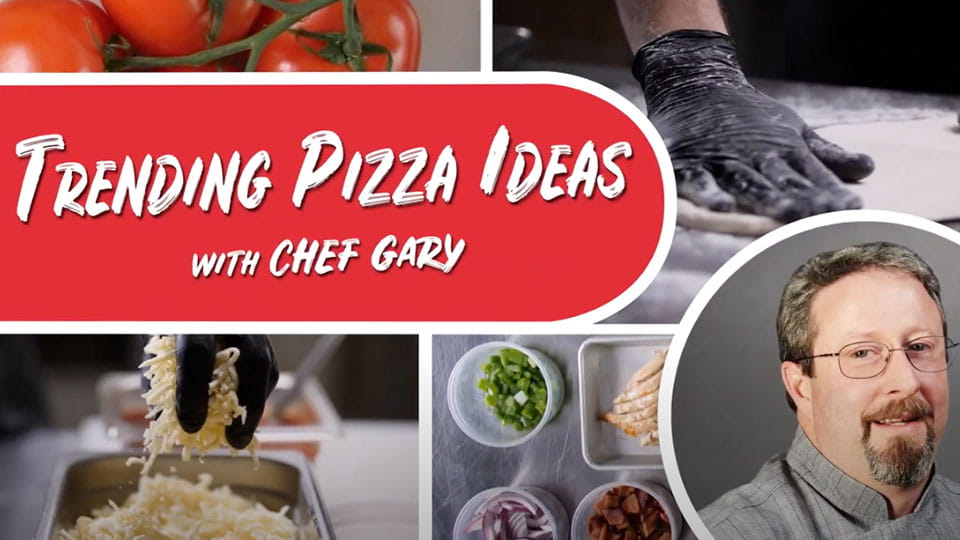 Trending pizza ideas with Chef Gary