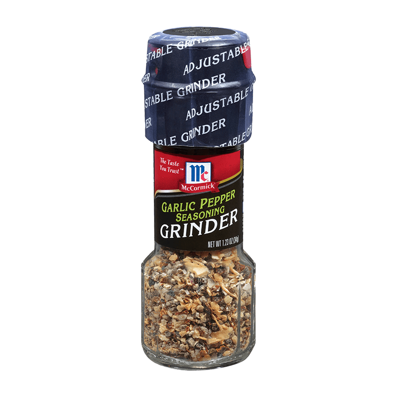 McCormick® Garlic Pepper Seasoning Grinder