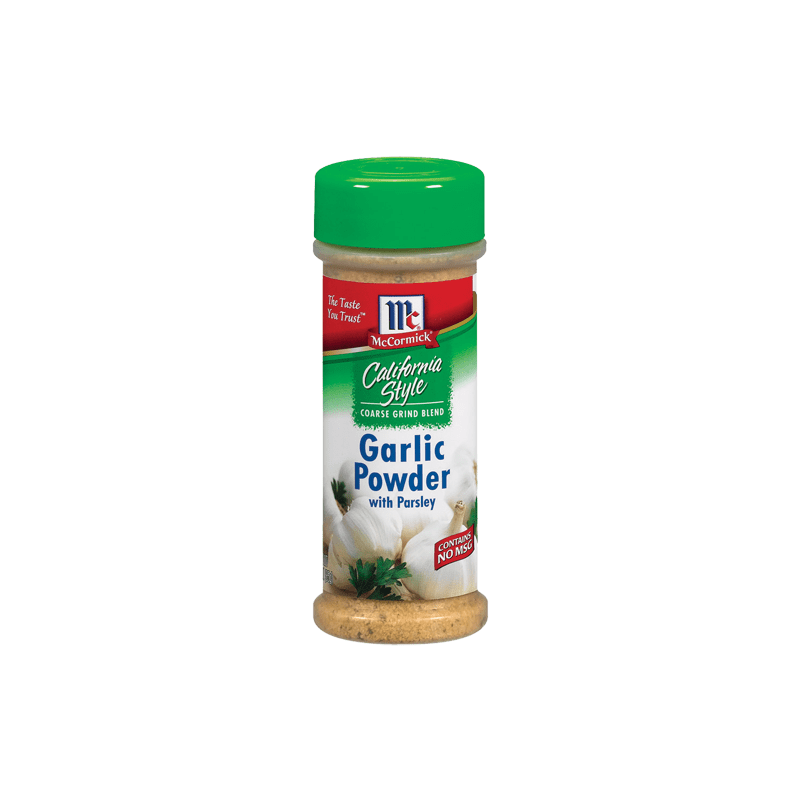 McCormick® California Style Garlic Powder With Parsley Coarse Grind Blend