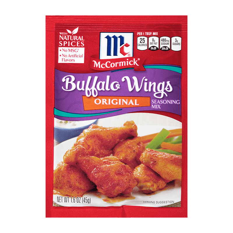 McCormick® Original Buffalo Wings Seasoning Mix