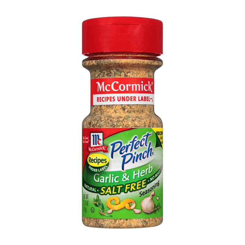 McCormick® Perfect Pinch® Garlic & Herb Salt Free Seasoning