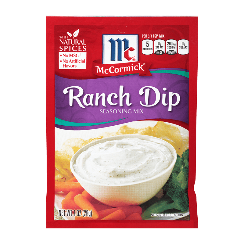 McCormick® Ranch Dip Mix