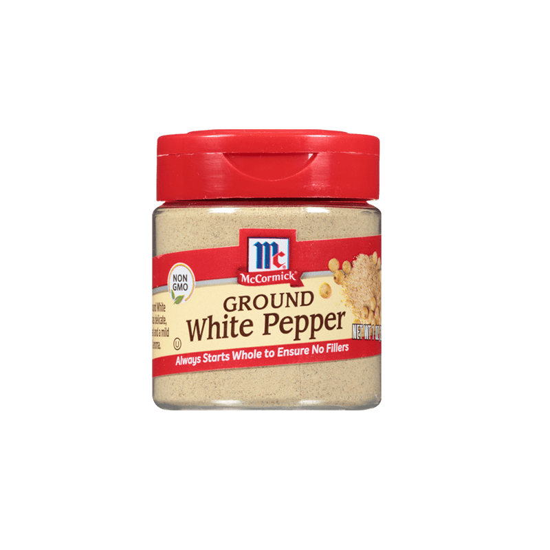 McCormick® White Pepper, Ground