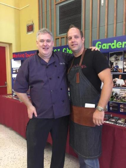 Chef Juriaan Reports from Toronto - McCormick Canada sponsors high school culinary fundraiser